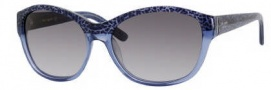 Kate Spade Lauralee/S Sunglasses Sunglasses - 01G1 Blue Cheetah / Y7 Gray Gradient Lens