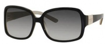 Kate Spade Lulu/S Sunglasses Sunglasses - 0JBM Black Champagne / Grey Gradient Lens