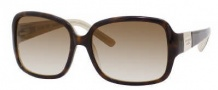 Kate Spade Lulu/S Sunglasses Sunglasses - 0JBY Tortoise Gold / Y6 Brown Gradient Lens