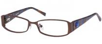 Gant GW Medio Eyeglasses Eyeglasses - SDBRN: Satin DK Brown