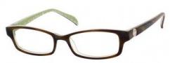 Kate Spade Elisabeth Eyeglasses Eyeglasses - 0JDJ Horn Green Noel