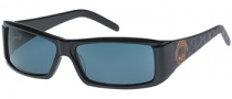 Harley-Davidson / HDX 806 Sunglasses Sunglasses - BLK-3: Black / ORG / Grey