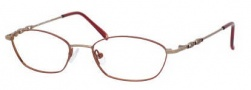 Liz Claiborne 242 Eyeglasses Eyeglasses - OFQ7 Antique Copper Brown