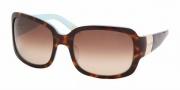 Ralph by Ralph Lauren RA 5031 Sunglasses Sunglasses - 601/13 Ligh Tort/Turquoise Brown Gradient