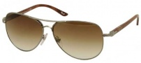 Persol PO 2393S Sunglasses Sunglasses - 997/51 Gunmetal / Crystal Brown Gradient