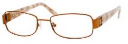Liz Claiborne 348 Eyeglasses  Eyeglasses - OERU Rose Gold