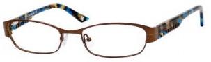Liz Claiborne 353 Eyeglasses Eyeglasses - ORX3 Dark Chocolate