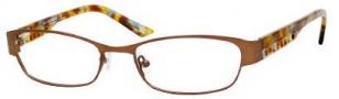 Liz Claiborne 353 Eyeglasses Eyeglasses - OFC8 Honey Demi