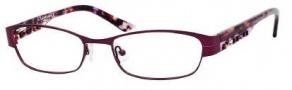 Liz Claiborne 353 Eyeglasses Eyeglasses - ONJR Purple Demi