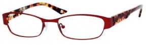 Liz Claiborne 353 Eyeglasses Eyeglasses - OFC9 Red Rose Demi