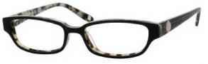 Liz Claiborne 357 Eyeglasses  Eyeglasses - OFT4 Black Cream Tortoise