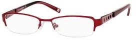 Liz Claiborne 358 Eyeglasses Eyeglasses - OFC9 Red Rose Demi