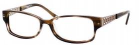 Liz Claiborne 369 Eyeglasses Eyeglasses - OFM3 Striated Blonde