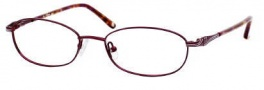 Liz Claiborne 370 Eyeglasses Eyeglasses - 01M6 Wine