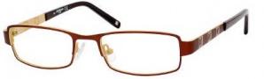 Liz Claiborne 416 Eyeglasses Eyeglasses - OEX2 Copper Peach