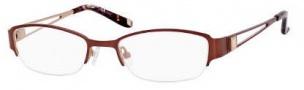 Liz Claiborne 417 Eyeglasses Eyeglasses - OFL9 Camel Peach