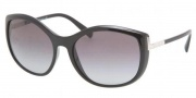 Prada PR 09NS Sunglasses Sunglasses - 1AB3M1 Black / Gray Gradient