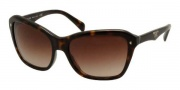 Prada PR 24NS Sunglasses Sunglasses - 2AU6S1 Havana / Brown Gradient
