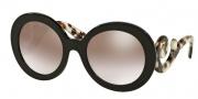 Prada PR 27NS Sunglasses Sunglasses - UAO4O0 Brown / Gradient Brown Mirror Silver