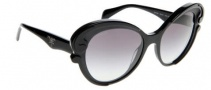 Prada PR 28NS Sunglasses Sunglasses - 1AB3M1 Black / Gray Gradient