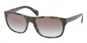 Prada PR 29NS Sunglasses Sunglasses - LAB0A7 Green Havana / Grey Gradient