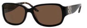 Liz Claiborne 537/S Sunglasses Sunglasses - FA7P Black Tokyo Tortoise (VW Brown Polarized Lens)