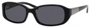 Liz Claiborne 542/S Sunglasses  Sunglasses - 807P Black (RA Gray Polarized Lens)