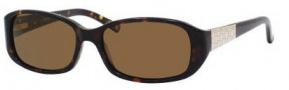 Liz Claiborne 542/S Sunglasses  Sunglasses - 086P Dark Havana (VW Brown Polarized Lens)