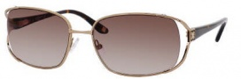 Liz Claiborne 543/S Sunglasses Sunglasses - OFG1 Almond Brown (Y6 Brown Gradient Lens)