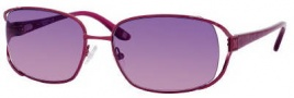 Liz Claiborne 543/S Sunglasses Sunglasses - OEZ1 Satin Bordeaux (RP Plum Gradient Lens)