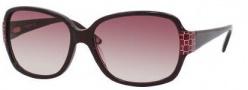 Liz Claiborne 544/S Sunglasses Sunglasses - OJZB Burgundy Pearl (XK Burgundy Gradient Lens)