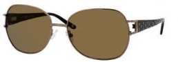 Liz Claiborne 547/S Sunglasses Sunglasses - RX3P Dark Chocolate (VW Brown Polarized Lens)