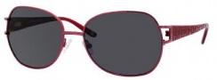 Liz Claiborne 547/S Sunglasses Sunglasses - JCSP Sangria (RA Gray Polarized Lens)
