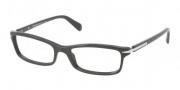 Prada PR 14NV Eyeglasses Eyeglasses - 1AB1O1 Black