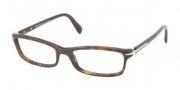Prada PR 14NV Eyeglasses Eyeglasses - 2AU1O1 Havana