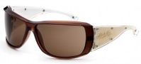 Black Flys Sunglasses Fly Trap  Sunglasses - Brown / Clear / Gold