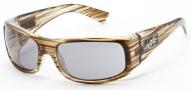 Black Flys Sunglasses Deflyant Sunglasses - Shiny Dark Olive Wood