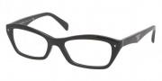 Prada PR 16NV Eyeglasses Eyeglasses - 1AB1O1 Gloss Black