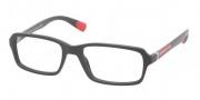 Prada Sport PS 01CV Eyeglasses Eyeglasses - 1BO1O1 Matte Black