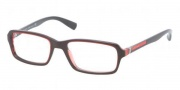 Prada Sport PS 01CV Eyeglasses Eyeglasses - CAR1O1 Lava Red