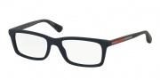 Prada Sport PS 02CV Eyeglasses Eyeglasses - TFY1O1 Blue Rubber