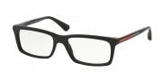 Prada Sport PS 02CV Eyeglasses Eyeglasses - 1BO1O1 Matte Black