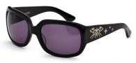Black Flys Sunglasses Fly Fatale Sunglasses - Shiny Black