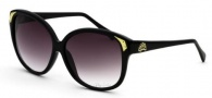 Black Flys Sunglasses Fly Heel  Sunglasses - Shiny Black