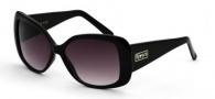 Black Flys Sunglasses Her Flyness Sunglasses - Shiny Black / Gradient