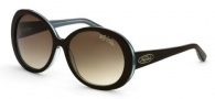 Black Flys Sunglasses Shiny Fly  Sunglasses - Brown / Turquoise