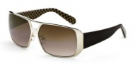 Black Flys MR Fly Sunglasses  Sunglasses - Gold Brown Check