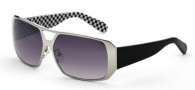 Black Flys MR Fly Sunglasses  Sunglasses - Chrome B/W Check