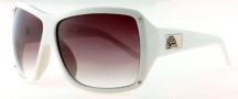 Black Flys On The Fly Sunglasses  Sunglasses - Shiny White