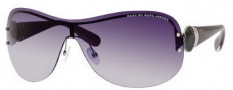 Marc by Marc Jacobs MMJ 028/N/S Sunglasses Sunglasses - OZV2 Ruthenium Black Gray (JJ Gray Gradient Lens)